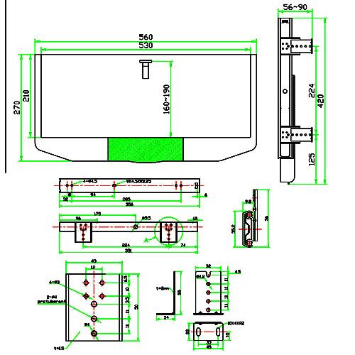 Hardware Resources Shop 2055 Drawer Slides Zinc Hardware