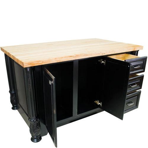 Hardware Resources Shop Isl05 Dbk Kitchen Island