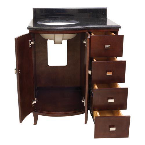 Hardware Resources Shop Van067 T Vanity Mahogany Jeffrey Alexander Small Bathroom