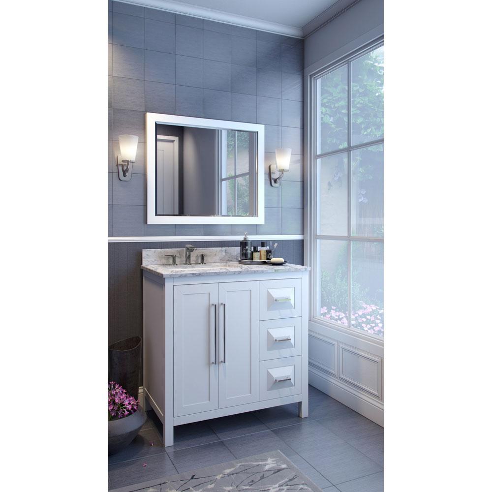 Hardware Resources Shop Van104 36 T Vanity White Jeffrey Alexander Large Bathroom