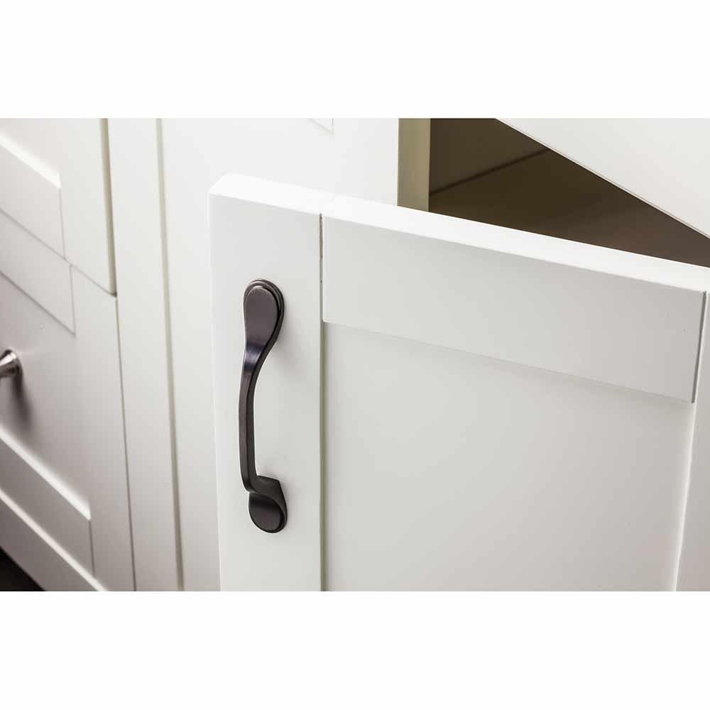 Hardware Resources Shop: 254-3DBAC | Cabinet Handle | Brushed Oil ...