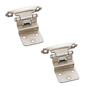 Satin Nickel Single Hardware Resources DS02 Adjustable Hinge Pin Door Stop