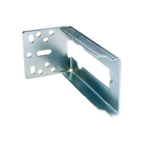 Hardware Resources - Drawer Slides - Rear Mounting Bracket For 303FUSFT Series Pair in Zinc