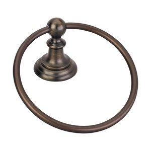 Elements by Hardware Resources - Conventional - Towel Ring in Brushed Oil Rubbed Bronze