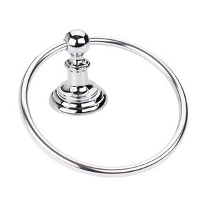 Elements Hardware - Conventional Bath Hardware - Towel Ring in Polished Chrome