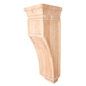 "Hardware Resources - 6 3/4"" x 22"" x 7 3/4"" Mission Corbel in Cherry Wood"