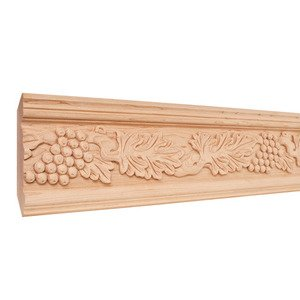 Hardware resources shop hcm07ch crown moulding for Decorative millwork accents
