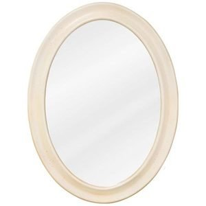 "Elements by Hardware Resources - Clairemont - 23 3/4"" x 31 1/2"" Mirror in Buttercream with Beveled Glass"