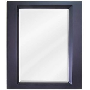 "Elements by Hardware Resources - Dalton - 23"" x 28"" Mirror in Espresso with Beveled Glass"