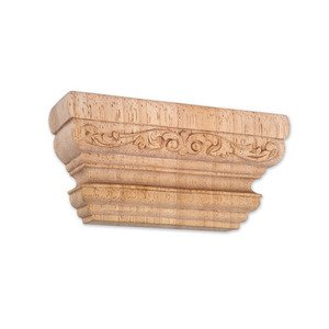 "Hardware Resources - Capitals - 3"" Acanthus Traditional Capital in Hard Maple Wood"