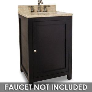 Jeffrey Alexander Small Bathroom Vanities Vanity 24 X 22 X 36 In Espresso With Brown Tan Top