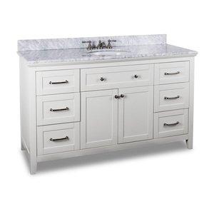 Hardware Resources Shop Van105 60 T Vanity White Jeffrey Alexander Large Bathroom