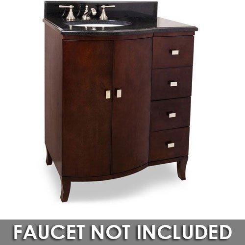 Small Bathroom Vanity With Granite Top : Hardware resources van t vanity mahogany