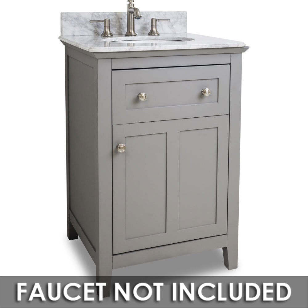 Hardware Resources Shop Van102 24 T Vanity Grey Jeffrey Alexander Small Bathroom Vanities