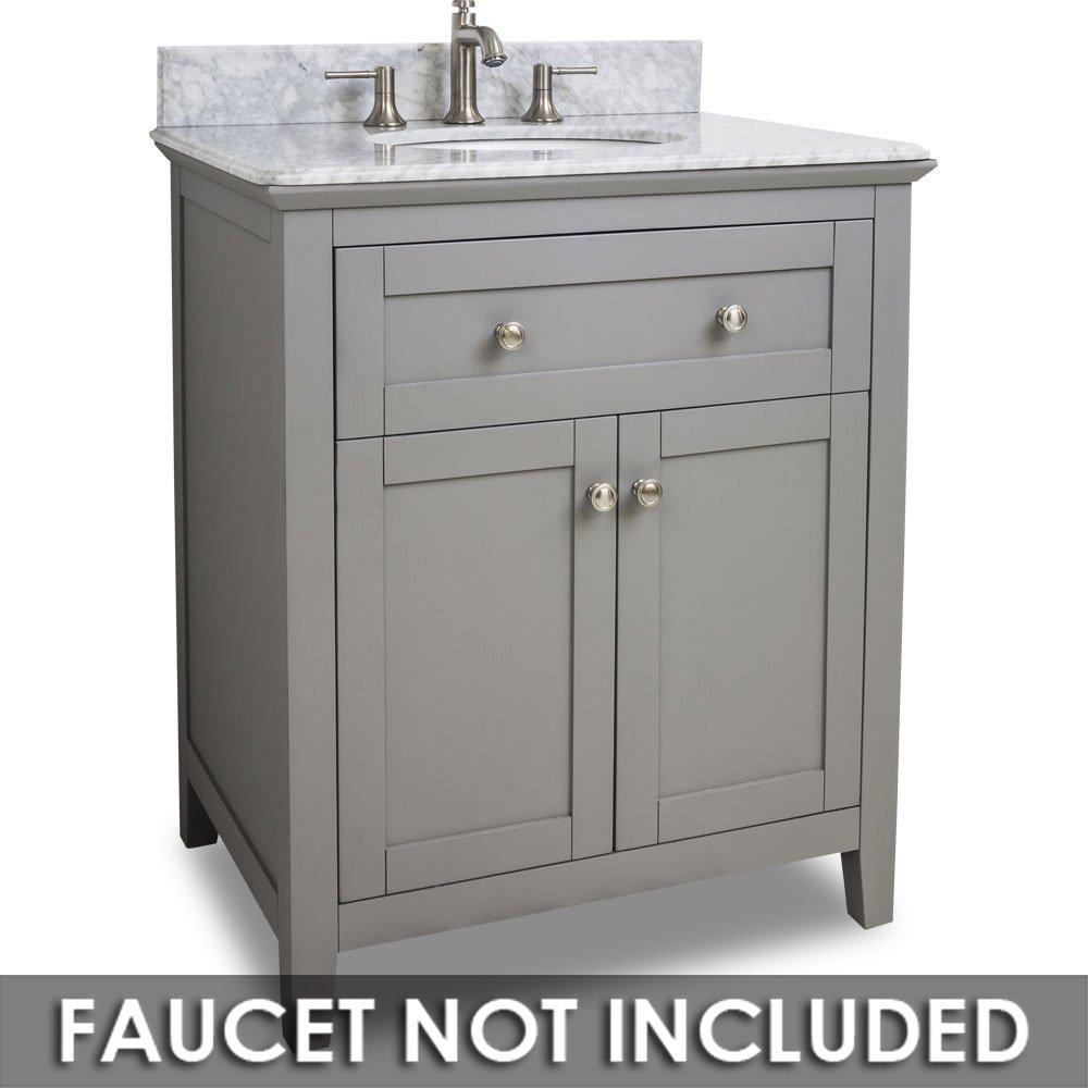 Hardware Resources Shop Van102 30 T Vanity Grey Jeffrey Alexander Large Bathroom Vanities