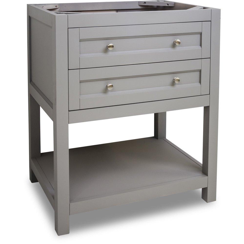 Hardware Resources Shop Van103 30 Vanity Grey Jeffrey Alexander Small Bathroom Vanities