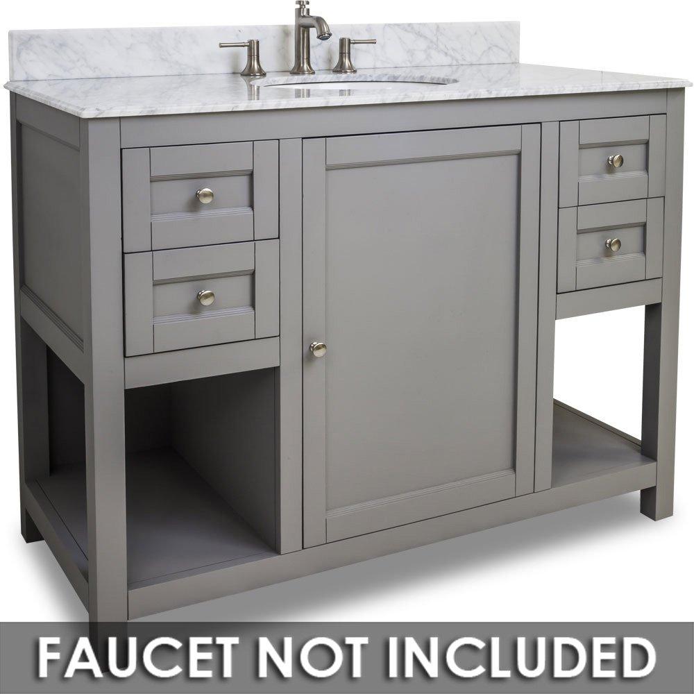 Hardware Resources Shop Van103 48 T Vanity Grey Jeffrey Alexander Large Bathroom Vanities