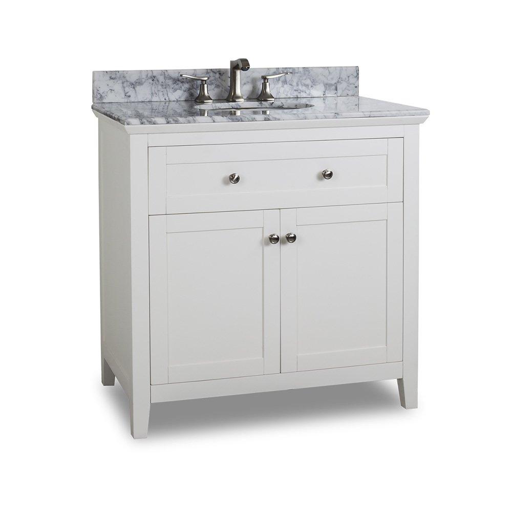 Hardware Resources Shop: VAN105-36-T | Vanity | White | Jeffrey ...