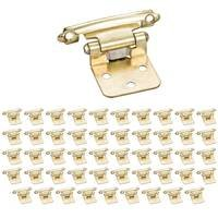 Hardware Resources - Builder Hardware - (25 PACK) Flush Hinge 1Pair in Polished Brass (PAIR)