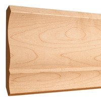 "Hardware Resources - Crown Mouldings - 5-1/2"" x 11/16"" Standard Crown Moulding in Maple Wood (8 Linear Feet)"