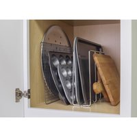 Hardware Resources - 11 Minute Organizers - U-Shaped Tray Organizer in Chrome