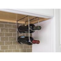 Hardware Resources - 11 Minute Organizers - Wine Bottle Holder in Polished Chrome